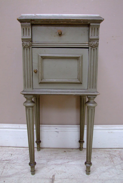 A1839 Antqiue French Bedside Table