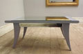 vintage mirrored coffee table c1920s