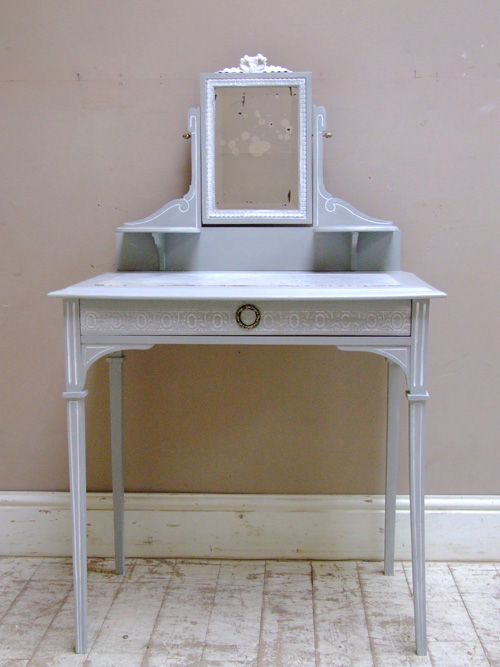 a2028 antqiue french coiffeusse dressing table. Black Bedroom Furniture Sets. Home Design Ideas