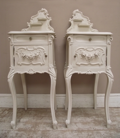 A2458 wonderful antique french bedside tables price 1045 watchthetrailerfo