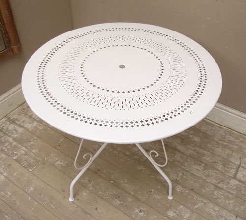 A2807 Vintage French Garden Table