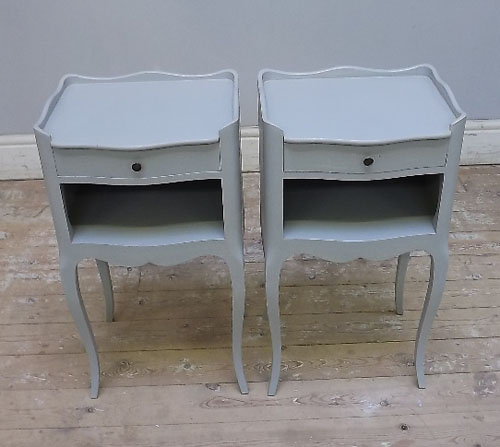 pair of vintage french bedside tbales - A2967 Pair Of French Bedside Tables