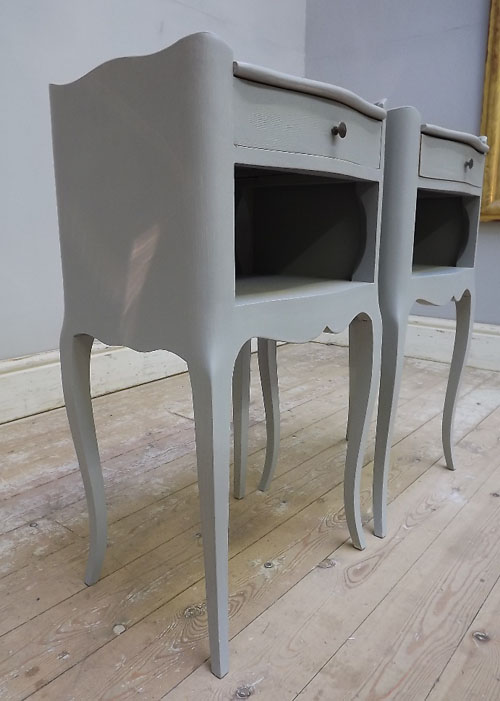 A2967 Pair Of French Bedside Tables