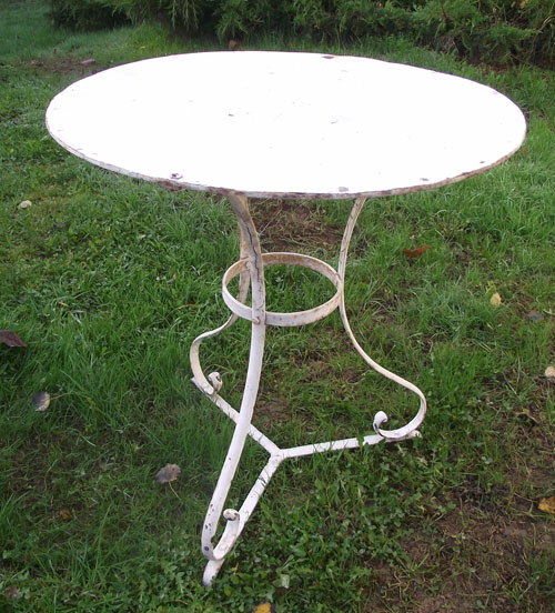 Wonderful Old French Bistro Table