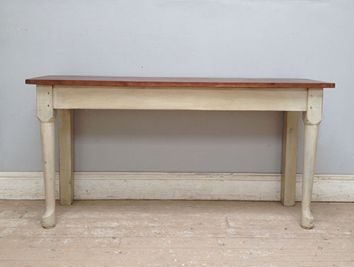 a3444 old kitchen side table console table - Kitchen Side Tables