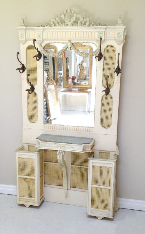 A3458 Wonderful Old French Hall Stand Louis Xvi