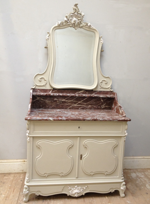 A3623 Antique Rococo Coiffeuse Dressing Table
