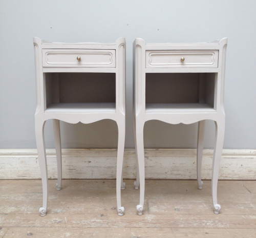 A3736 Pair Of French Bedside Tables