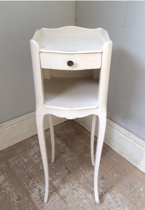 A4369 Vintage French Slim Bedside Table