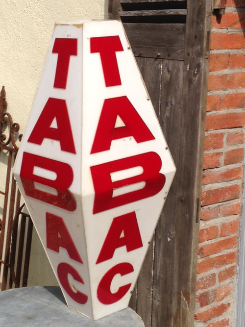 A4520 Full Size Old French Tabac Sign