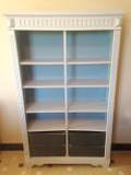 FRENCH ANTIQUE SMALL BOOKCASE