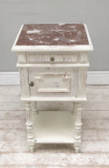 French Antique Henri II bedside table