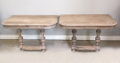 pair of console table