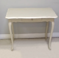 old french painted louis xv desk / table