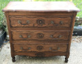old french louis xv chest of drawers