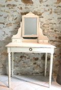 french antique small dressing table