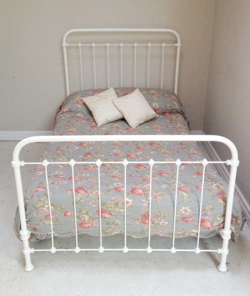 Ib3692 Antique Iron 34 Size Bed