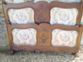 Old French Louis XV Style 5ft wide bed