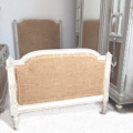 single old French Louis XVI style bed for Upholstery