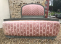 old french demi-corbeille double bed