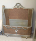 wonderful french antique large double bed
