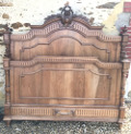 french antique 5ft wide bed