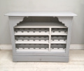 OLD FRENCH LOUIS PHILIPPE CUPBOARD / WINE RACK