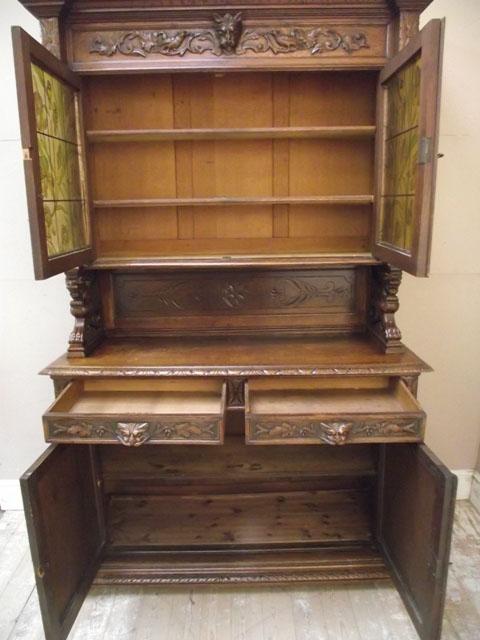 Id2738 Antique Henri Ii Dresser