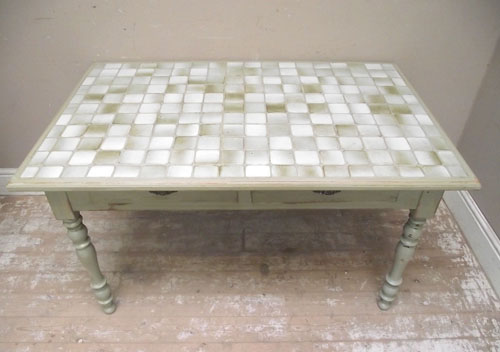 Kitchen Table With Tile Top Tile Top Kitchen Tables King