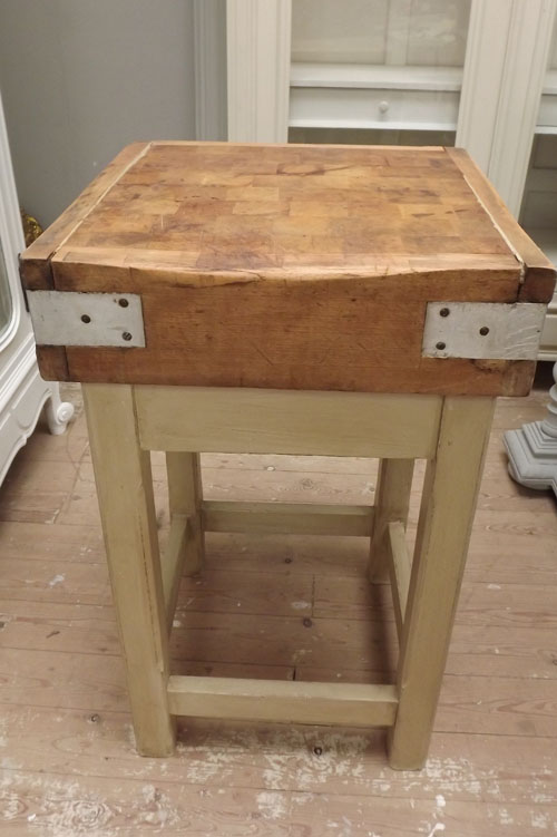 id3268 old french butchers block