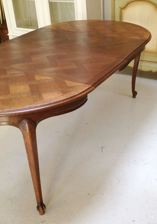 id3434 vintage french dining table oak provencal style