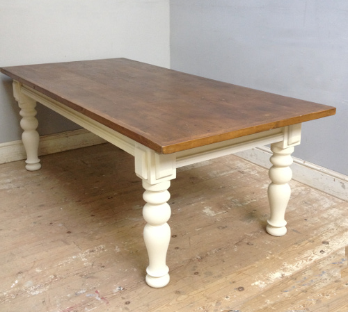 ID3701 Very large Farmhouse Style Table