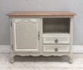 old decorative french provencal style cupboard