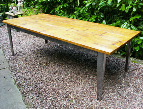 Idjc137 large upcycled dining table for Upcycled dining table