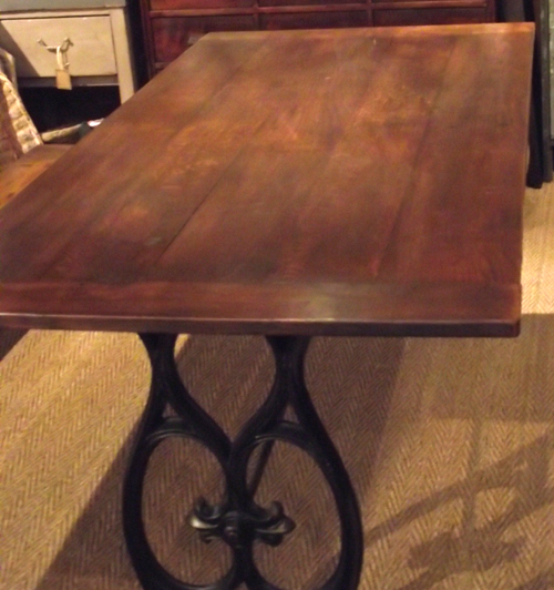 Idlb26 french upcycled dining table for Upcycled dining table