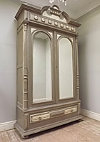 stunning french antique armoire