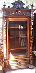 stunning quality french antique bookcase