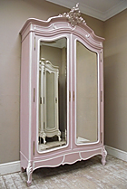 french antique painted armoire