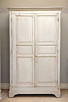 wonderful old french kitchen cupboard / armoire