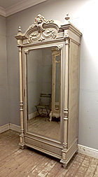 wonderful french single door armoire