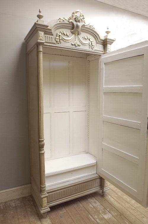 Price £1195. Antique French Single Door Armoire