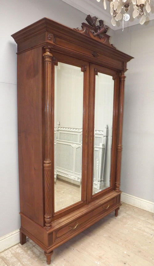 if3217 antique french henri ii style armoire. Black Bedroom Furniture Sets. Home Design Ideas