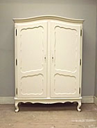 wonderful vintage french 2 door armoire