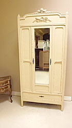 french antique louis XVI style armoire