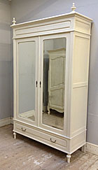antique french Henri II style armoire