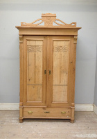 old pine armoire / cupboard