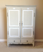 small vintage french armoire