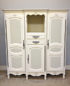 vintage french armoire / storage unit