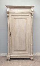 French antique rustic armoire