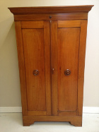 SMALL LATE VICTORIAN WARDROBE